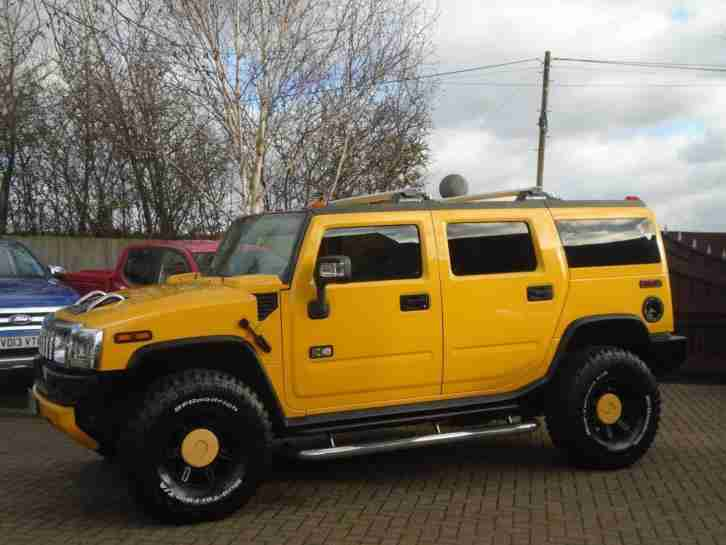 Hummer H2. Hummer car from United Kingdom