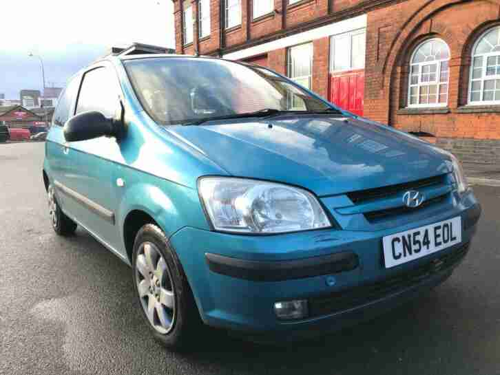 2004 Hyundai Getz 1.1 GSi Long Mot Excellent Runner Bargain Quick Sale 3dr Blue