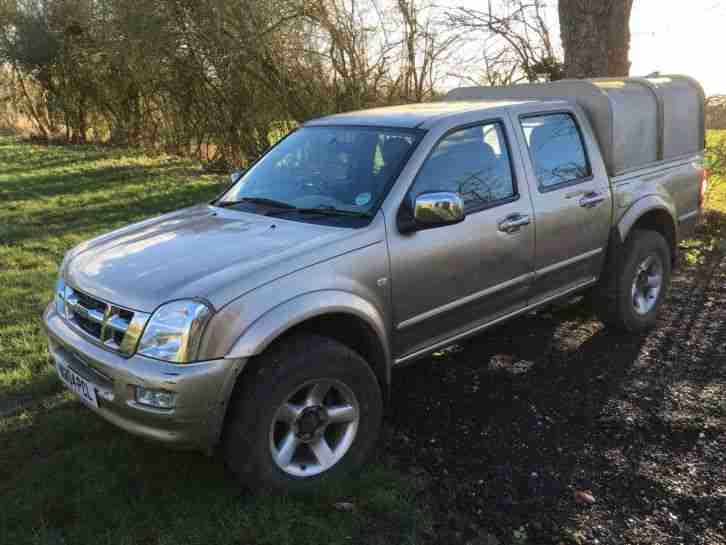 isuzu 2004 rodeo 3 0 td double cab manual 4x4 4wd ifor. Black Bedroom Furniture Sets. Home Design Ideas
