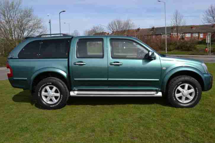 2004 Isuzu Rodeo 3.0TD Denver Max Double Cab 4x4 5 door Pick up