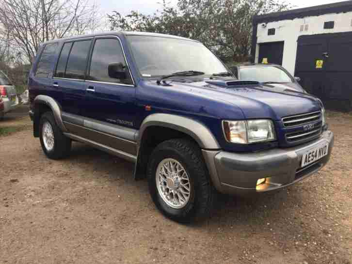 2004 Isuzu Trooper 3.0TD Citation 4x4 Long Mot Full Service History 2 Keys