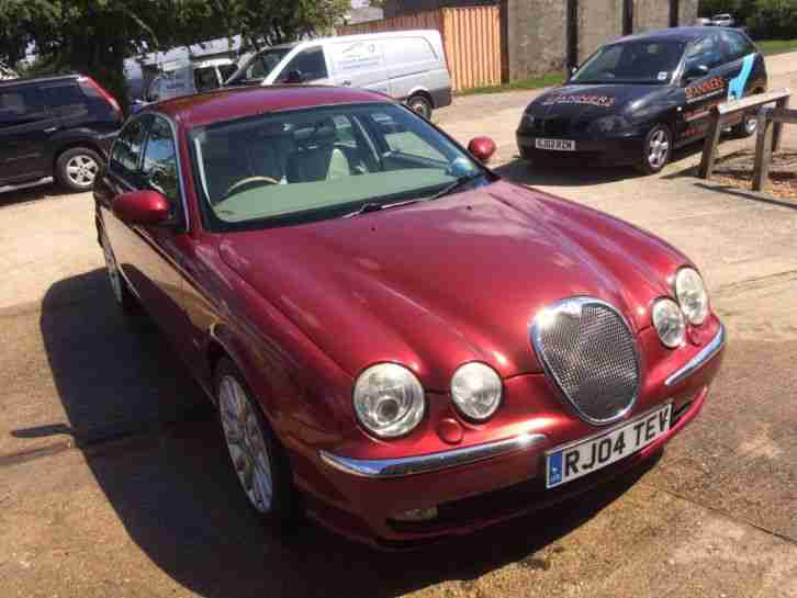 jaguar 2004 s type v8 se auto red car for sale. Black Bedroom Furniture Sets. Home Design Ideas