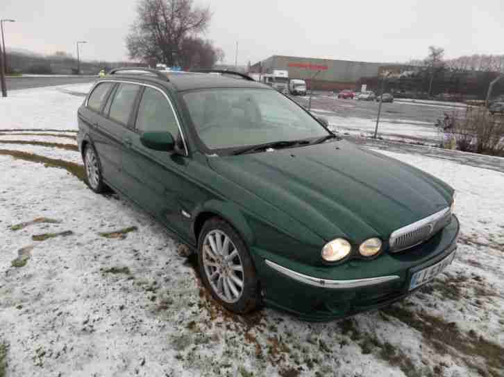 2004 JAGUAR X-TYPE 2.5 V6 AUTOMATIC SE 4 WHEEL DRIVES ESTATE