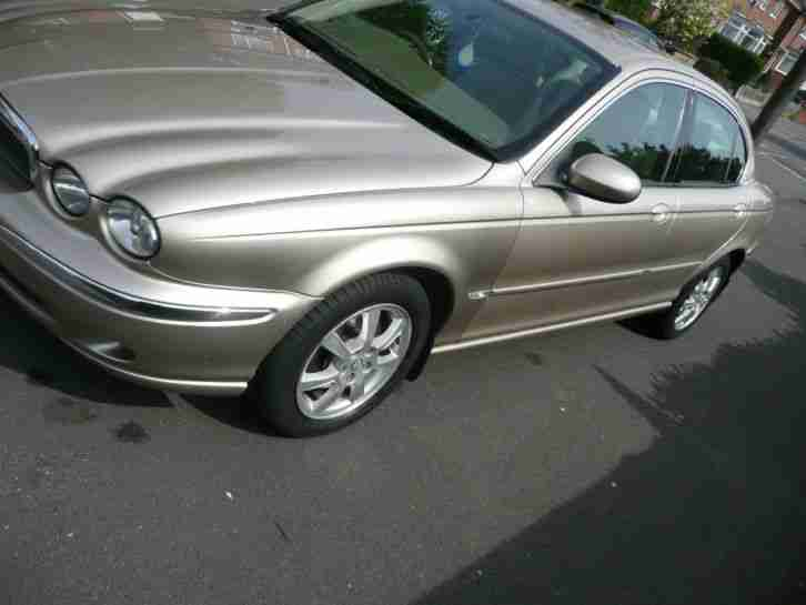 2004 JAGUAR X-TYPE SE D GOLD