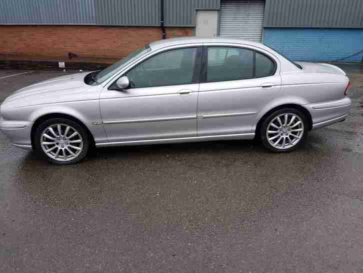 2004 JAGUAR X TYPE SPORT D FSH NO RESERVE AUCTION 12 MONTHS TEST DRIVES WELL