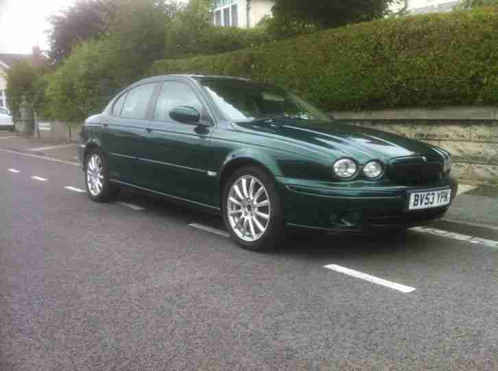 Jaguar 2004 X Type Sport D Green Low Mileage One Previous Owner