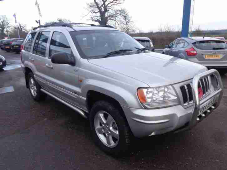 jeep 2004 grand cherokee 2 8 overland crd estate diesel car for sale. Black Bedroom Furniture Sets. Home Design Ideas