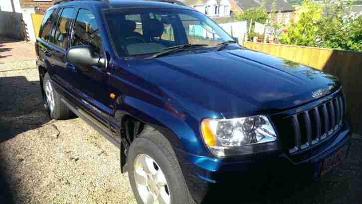 jeep 2004 grand cherokee crd ltd au blue 2 7 diesel car for sale. Black Bedroom Furniture Sets. Home Design Ideas