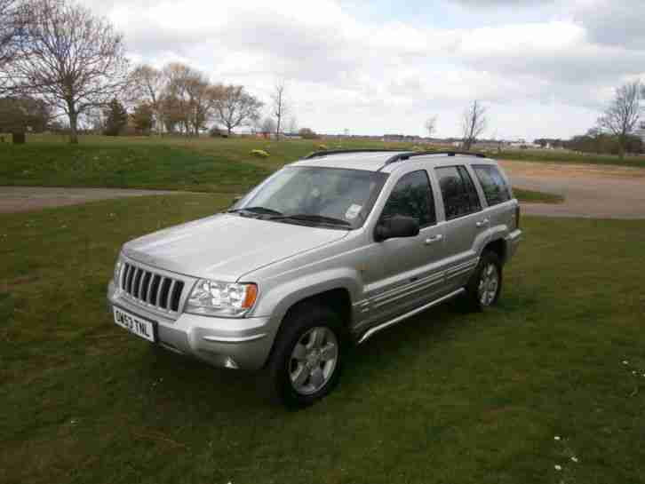 2004 JEEP GRAND CHEROKEE CRD LTD AUTO / F.S.H / MOT MAR 2015 /