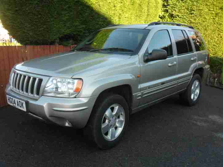 jeep 2004 grand cherokee crd ltd diesel auto 4x4 car for sale. Black Bedroom Furniture Sets. Home Design Ideas