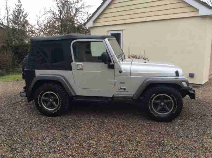 2004 JEEP WRANGLER EXTREME SPORT SILVER