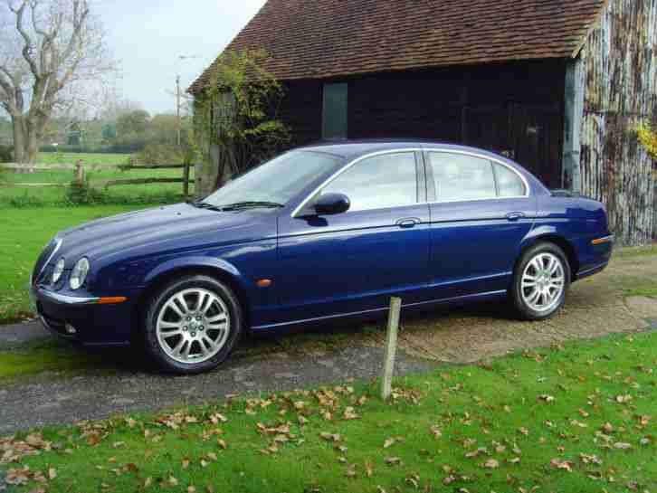 jaguar 2004 s type 2 5 v6 auto se car for sale. Black Bedroom Furniture Sets. Home Design Ideas
