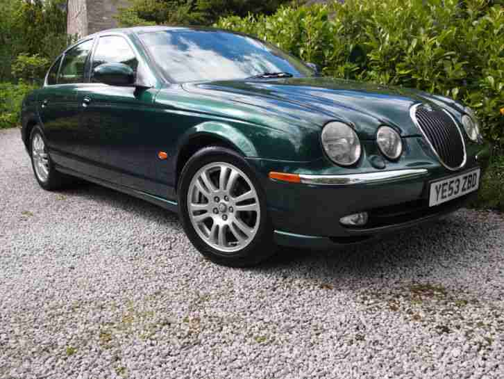 2004 Jaguar S-Type 3.0 V6 SE Auto Racing Green