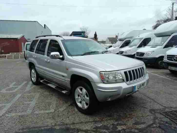 2004 Jeep Grand Cherokee 2.7 CRD LTD Auto Spares Or Repairs Export Shogun 4X4