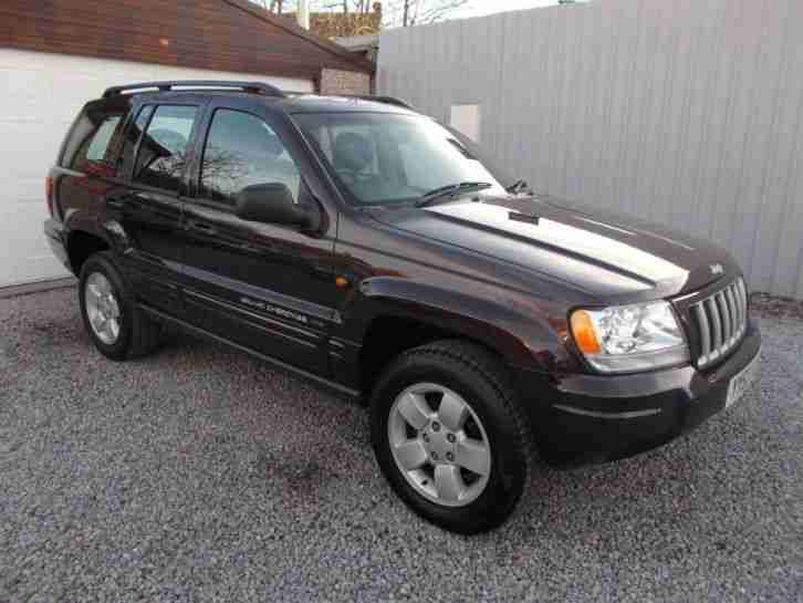 jeep 2004 grand cherokee 2 7 crd limited 5dr auto 5 door. Black Bedroom Furniture Sets. Home Design Ideas