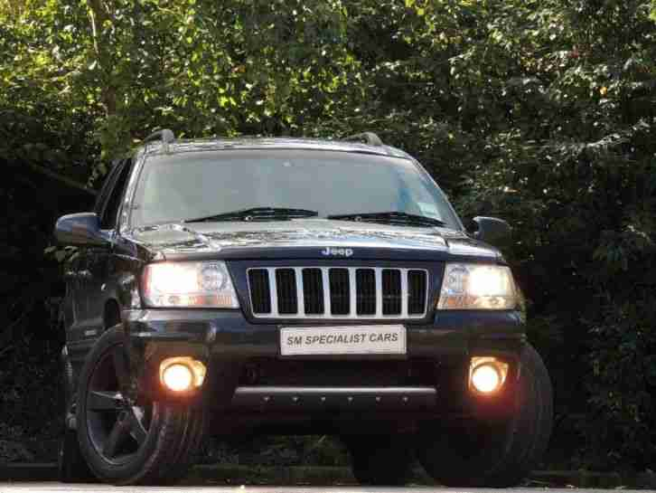 Jeep 2004 Grand Cherokee 2.7 CRD Limited Station Wagon 5dr ...