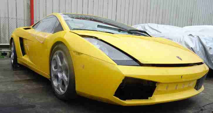 2004 GALLARDO 5.0 V10 LHD YELLOW