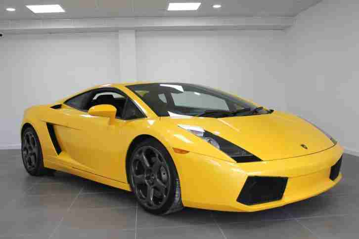 Lamborghini 2004 Gallardo Rare Yellow 5 0 V10 Immaculate Inside Out