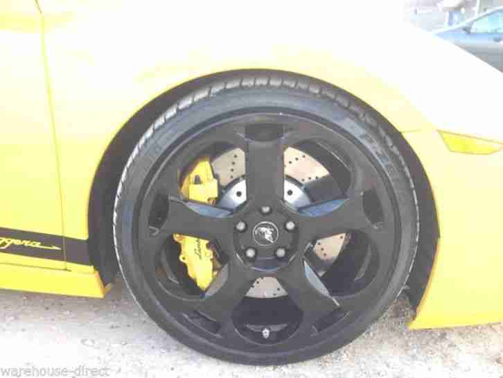 2004 LAMBORGHINI GALLARDO YELLOW RECENT FULL SERVICE NEW TYRES BREAKS ALL ROUND