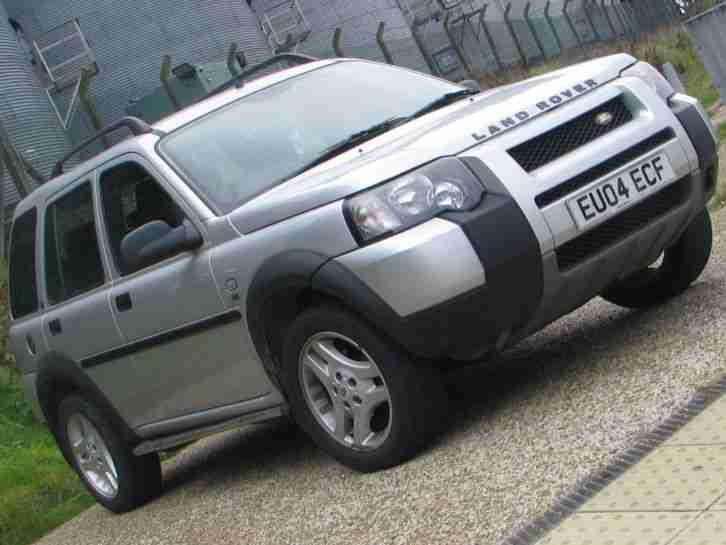 2004 land rover freelander se td4 silver car for sale. Black Bedroom Furniture Sets. Home Design Ideas