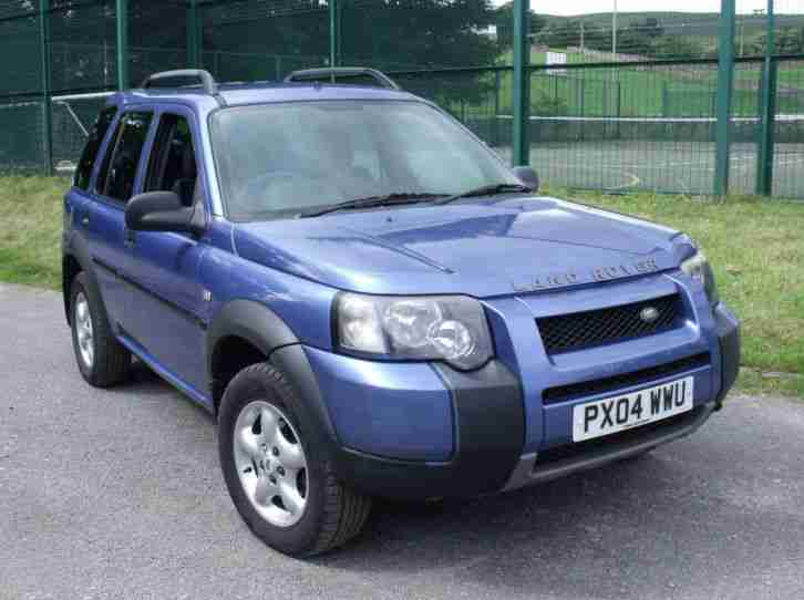 2004 LANDROVER FREELANDER TD4 SE # 5 DOOR # AUTO # LOW MILEAGE # MINOR DAMAGE #