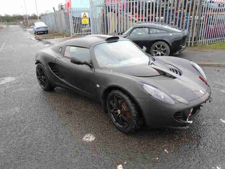 2004 LOTUS ELISE 111R 190 BHP TOYOTA ENGINE TOURING CAT D SALVAGE EASY EASY FIX