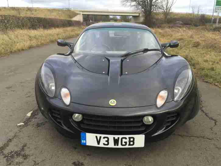 Lotus 2004 ELISE 111S BLACK. car for sale