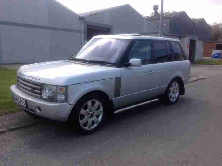 2004 land rover range rover 4 4 dvd auto autobiography edition car for sale. Black Bedroom Furniture Sets. Home Design Ideas