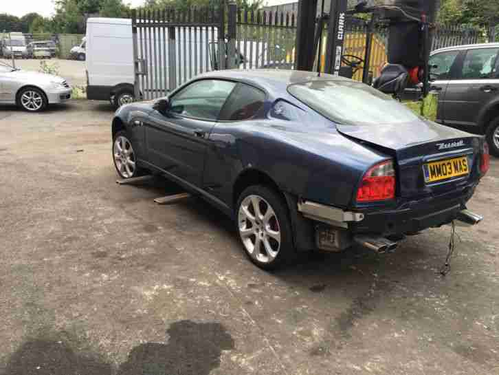 maserati 2004 4200 gt coupe damaged repairable salvage. Black Bedroom Furniture Sets. Home Design Ideas