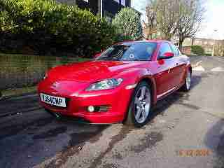 2004 MAZDA RX-8 192 PS RED 22000 miles !!!!!!!!!!! NO RESERVE
