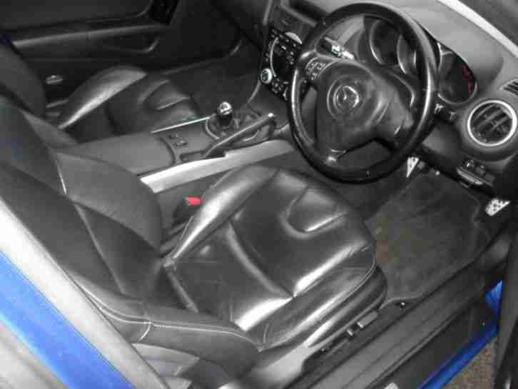 2004 MAZDA RX-8 231 PS BLUE