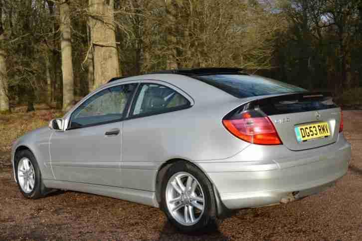 2004 Mercedes C180 Kompressor Se Se Coupe Manual Car For Sale