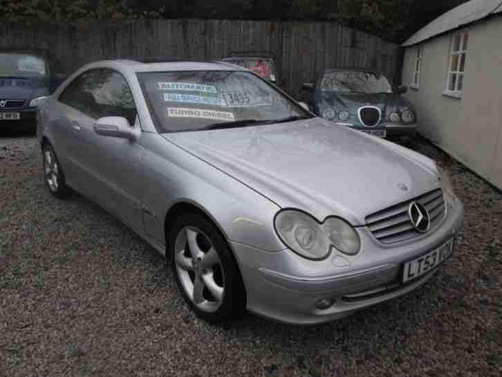 2004 mercedes clk 270 cdi auto silver car for sale. Black Bedroom Furniture Sets. Home Design Ideas