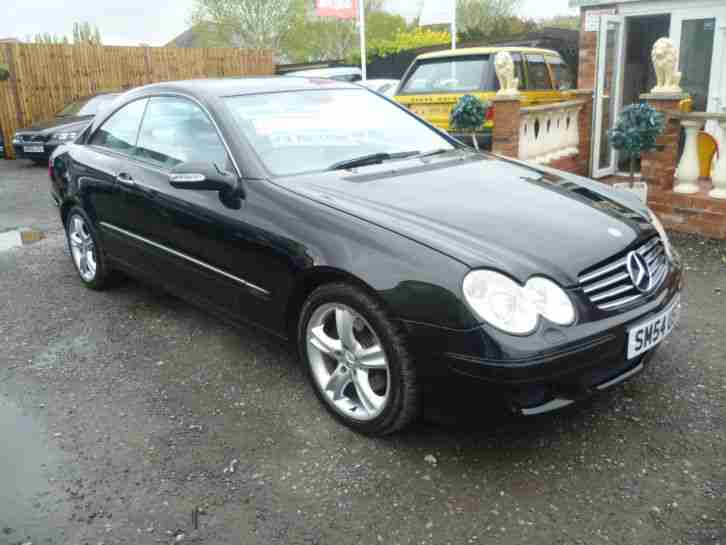 2004 mercedes clk 320 avantgarde auto black car for sale. Black Bedroom Furniture Sets. Home Design Ideas