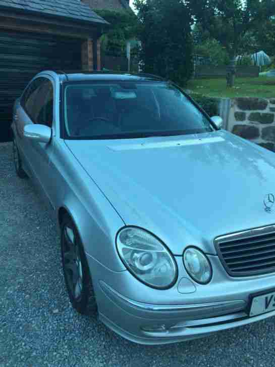 2004 mercedes e320 cdi avantgarde auto silver car for sale. Black Bedroom Furniture Sets. Home Design Ideas