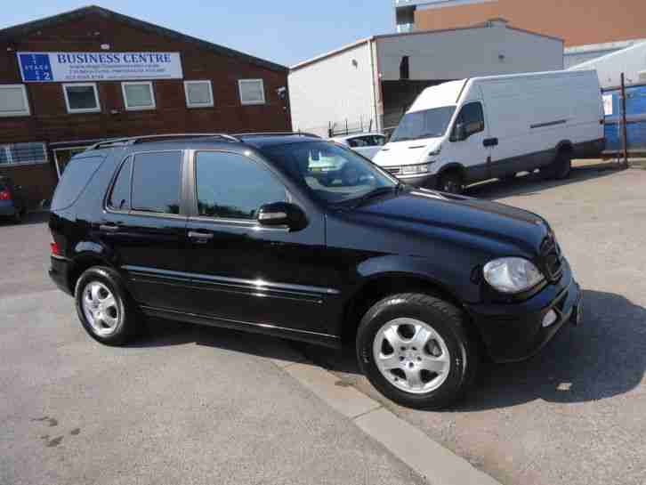 2004 mercedes ml270 cdi automatic 4x4 4wd estate only 82 000 miles. Black Bedroom Furniture Sets. Home Design Ideas