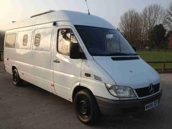 2004 MERCEDES SPRINTER 311 CDI LWB WHITE EX