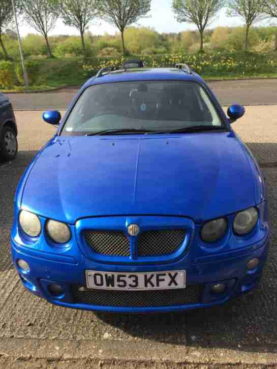 MG ZT. MG car from United Kingdom