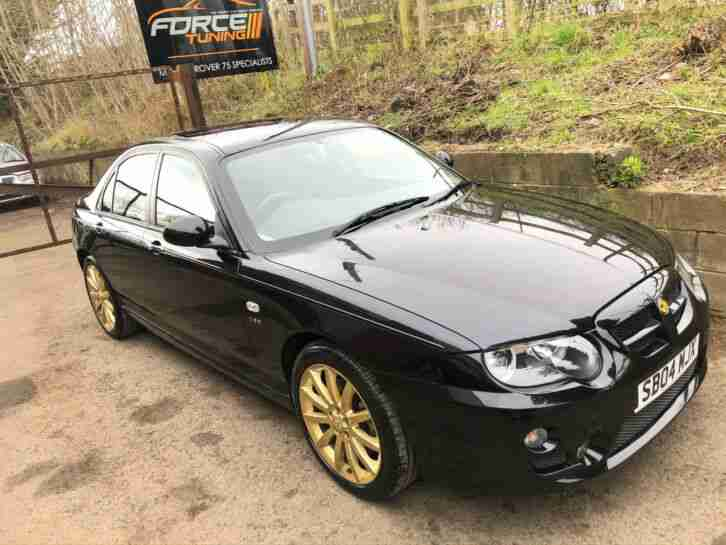 2004 MG ZT190 Pristine Concourse Condition 31k Miles Pearl Black Full MOT