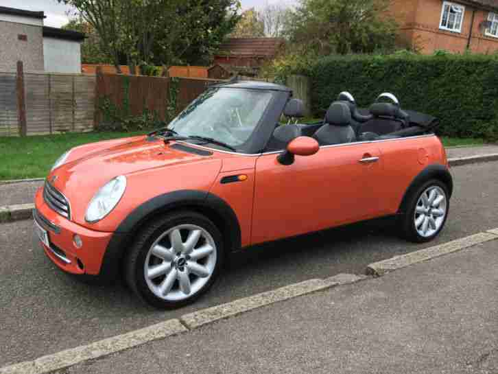 2004 COOPER Convertible SPARES OR