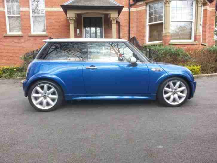 2004 MINI COOPER S 1.6 HATCHBACK, SUPERCHARGED- MOT