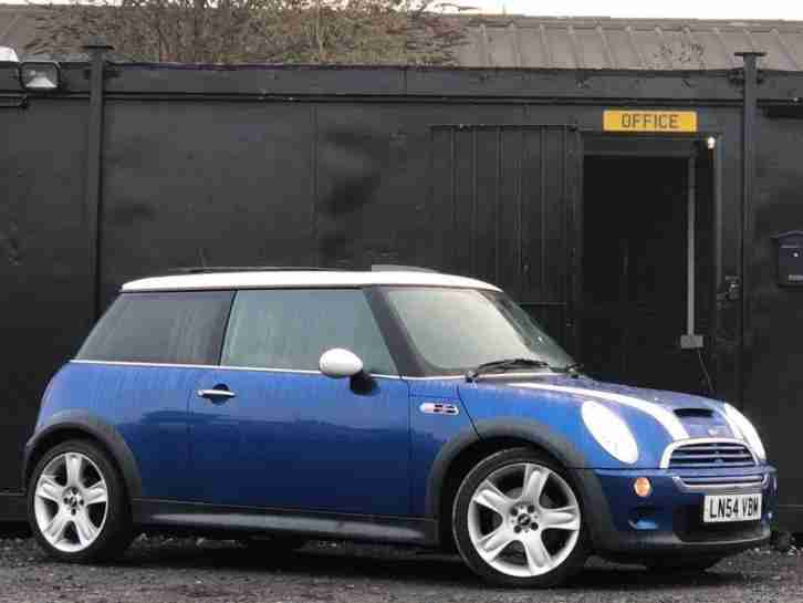 2004 COOPER S 1.6L + PAN ROOF + HEATED