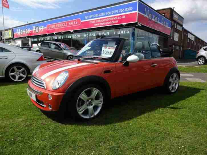 2004 MINI Convertible 1.6 One 2dr