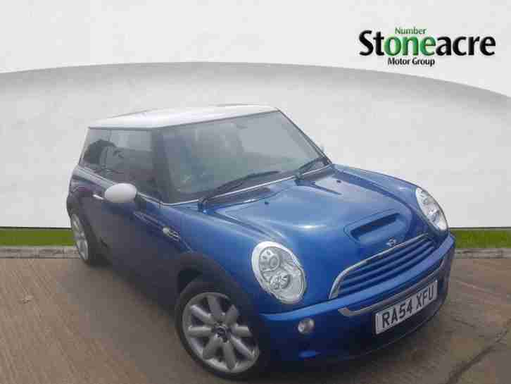Mini Hatch. Mini car from United Kingdom