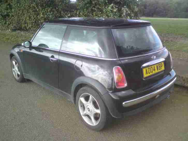 2004 MINI TAX TEST SPARES OR REPAIRES