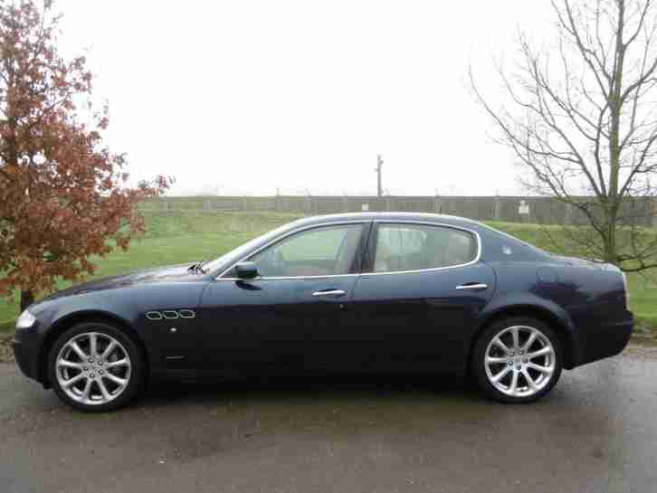 2004 Maserati Quattroporte 4.2 Seq 4dr Sat Nav! Paddle Shift! 4 door Saloon