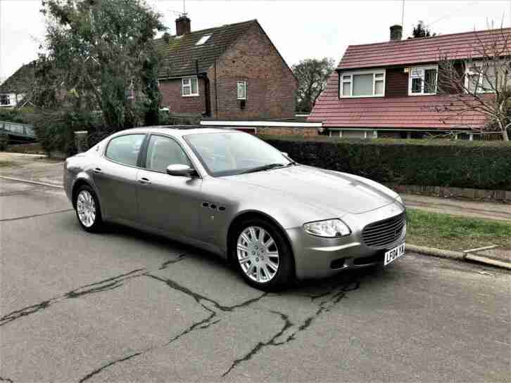 2004 Quattroporte 4.2 Seq Only