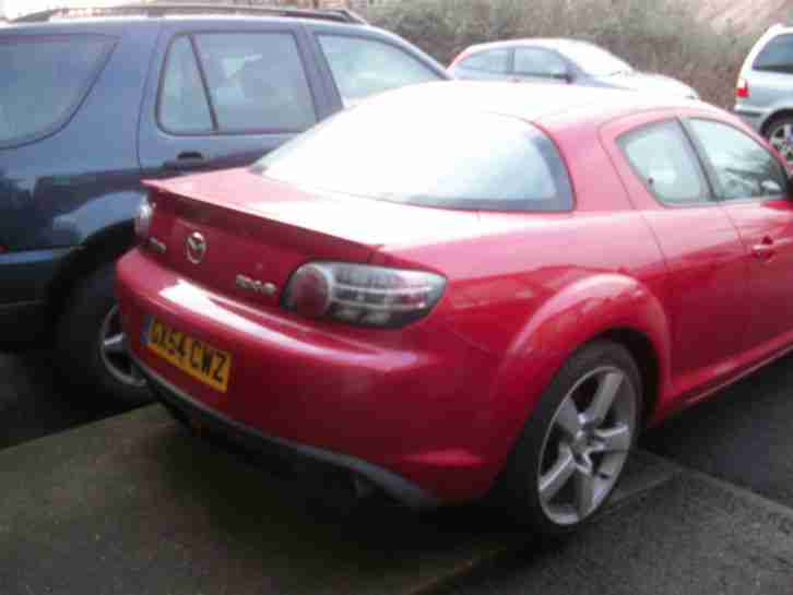 2004 Mazda RX-8 1.3 ( 190bhp ) breaking for spares parts dismantling