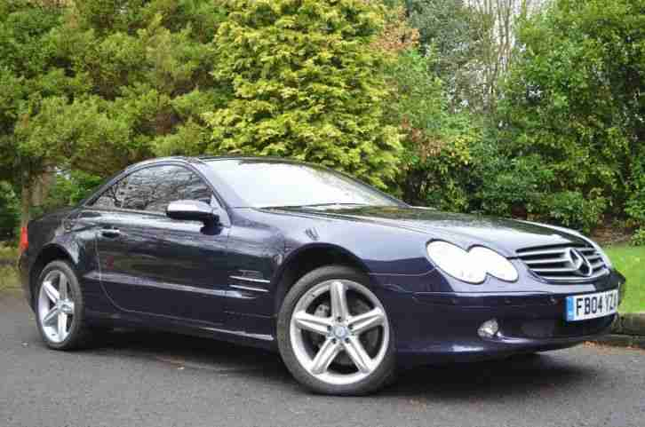 Mercedes benz 2004 sl class 5 0 sl500 2dr car for sale for Mercedes benz sl coupe for sale