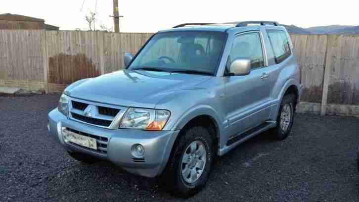 2004 Mitsubishi Shogun 3.2 DiD swb Equippe Spares or Repair